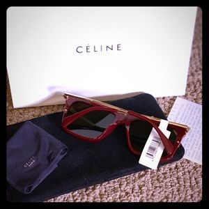 Celine polarize square sunglasses!